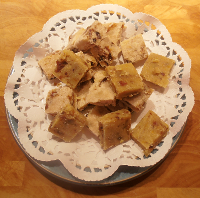 Dairy-free nut fudge